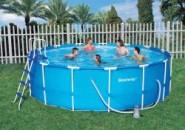 Каркасный бассейн – идеальный для дачи
