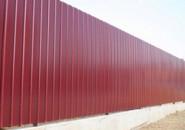 Забор из профлиста — очевидные преимущества