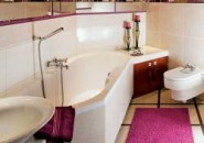 Визуальное пространство в ванной