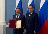Валерию Лидину вручили благодарность полпреда президента РФ в ПФО