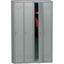 Шкафы раздевальные металлические