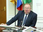 Сергея Волкова поздравили с 55-летием