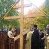 В Каменке начато строительство храма святого Александра Невского