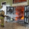 В Пензе сгорел мебельный цех