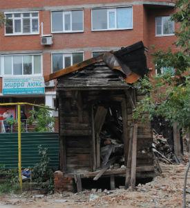 Пожары на улице Урицкого в Пензе