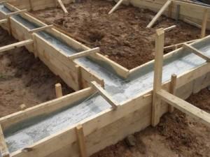 фундамент деревянные дома
