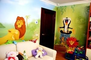 Как покрасить стены в детской комнате