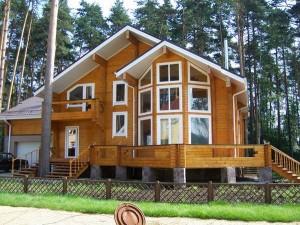дома из клееного деревянного бруса
