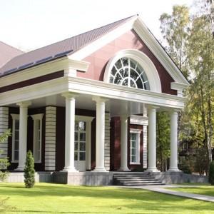 Декоративные элементы фасадов из пенопласта