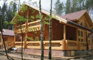 финских деревянных домов