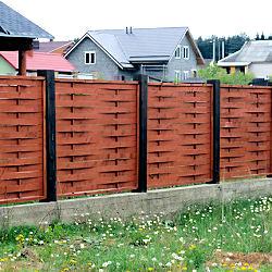 заборы для дачи деревянные фото
