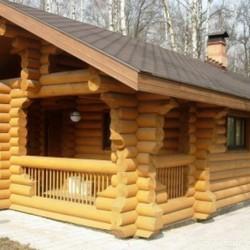 Красивые и недорогие деревянные бани