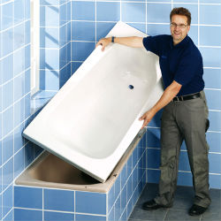 Преимущества акриловых ванн