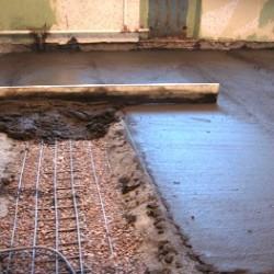 Самостоятельное утепление бетонного пола