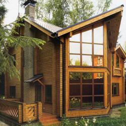 Дом из бруса: основные приемы при строительстве